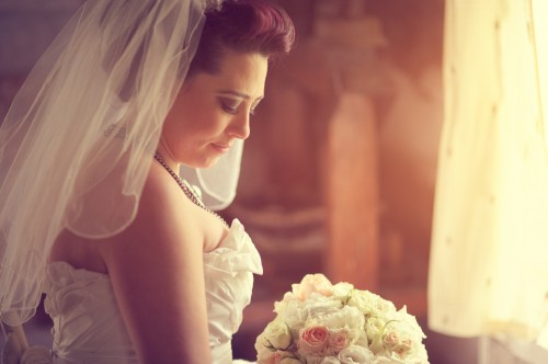 Ontario Barn Wedding Bride