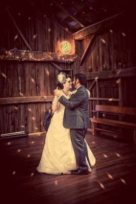 Ontario Barn Wedding First Dance